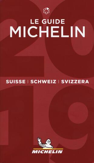 copertina Suisse, Schweiz, Svizzera 2019. La guida rossa. Ediz. italiana, francese e tedesca