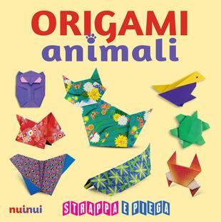 copertina Origami animali. Strappa e piega. Con Contenuto digitale per accesso on line