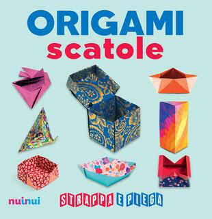 copertina Origami scatole. Strappa e piega. Con Contenuto digitale per accesso on line
