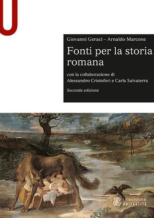 copertina Fonti per la storia romana