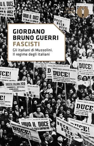 copertina Fascisti. Gli italiani di Mussolini. Il regime degli italiani