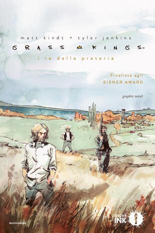 copertina Grass Kings. I re della prateria