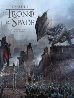 copertina L'arte de Il Trono di Spade. Ediz. a colori