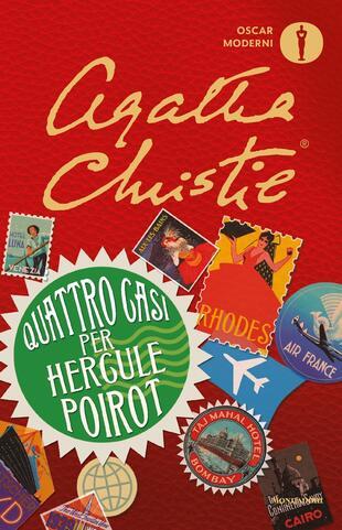 copertina Quattro casi per Hercule Poirot