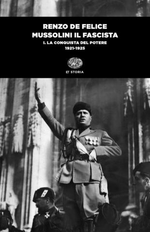 copertina Mussolini il fascista