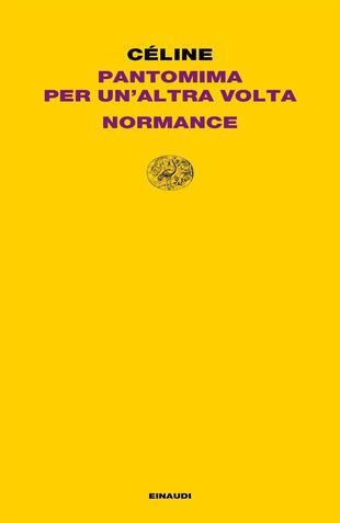 copertina Pantomima per un'altra volta-Normance