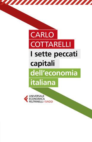 copertina I sette peccati capitali dell'economia italiana