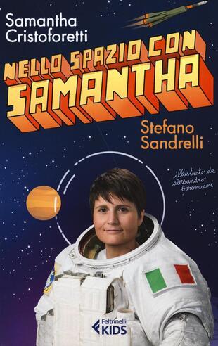 copertina Nello spazio con Samantha