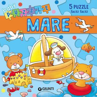 copertina Mare. Libro puzzle. Ediz. a colori