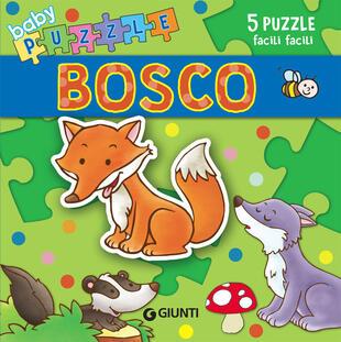 copertina Bosco. Libro puzzle. Ediz. a colori
