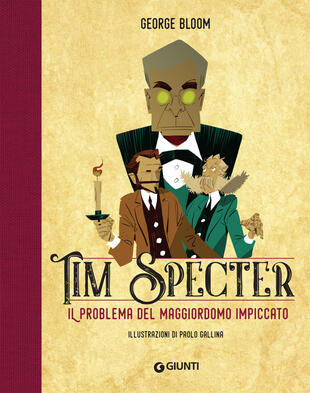 copertina Il problema del maggiordomo impiccato. Tim Specter