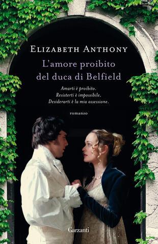 copertina L'amore proibito del duca di Belfield