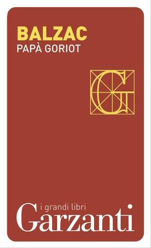 copertina Papà Goriot