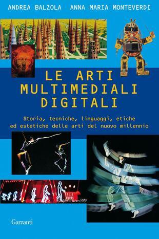 copertina Le arti multimediali digitali