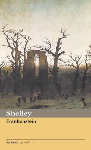 copertina Frankenstein, ovvero Il moderno Prometeo