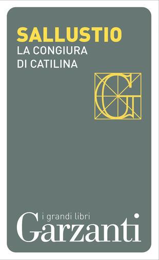 copertina La congiura di Catilina