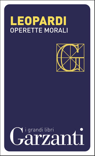copertina Operette morali
