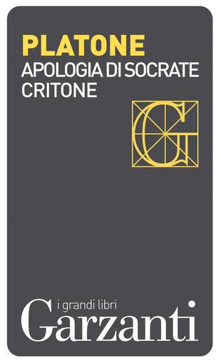 copertina Apologia di Socrate - Critone
