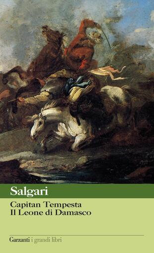 copertina Capitan Tempesta - Il Leone di Damasco