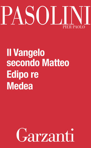 copertina Il Vangelo secondo Matteo - Edipo re - Medea