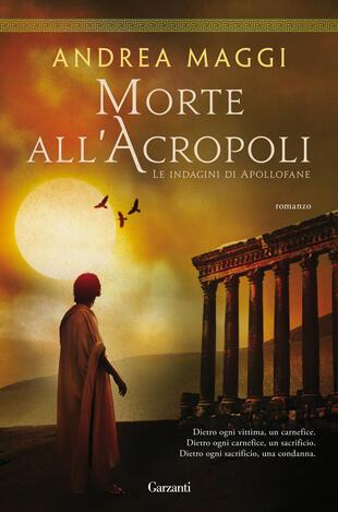 copertina Morte all'Acropoli