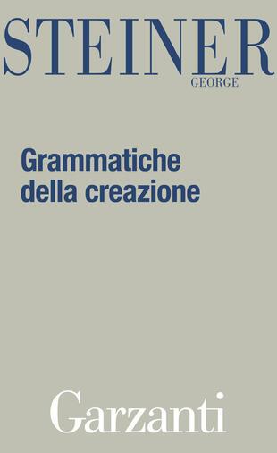 copertina Grammatiche della creazione