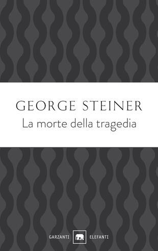 copertina La morte della tragedia
