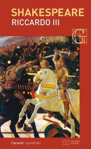 copertina Riccardo III. Con testo a fronte