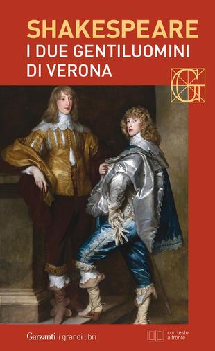 copertina I due gentiluomini di Verona. Con testo a fronte