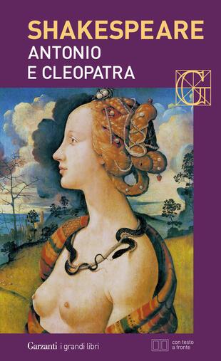 copertina Antonio e Cleopatra. Con testo a fronte