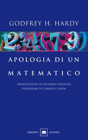 copertina Apologia di un matematico