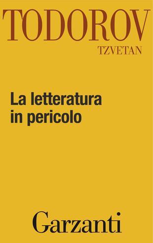 copertina La letteratura in pericolo