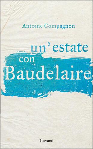 copertina Un'estate con Baudelaire