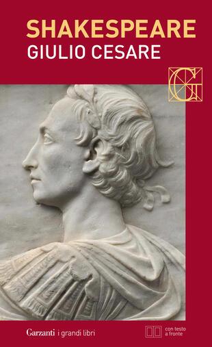 copertina Giulio Cesare. Con testo a fronte