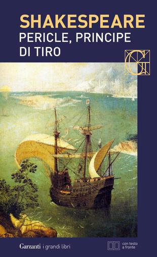 copertina Pericle, principe di Tiro. Con testo a fronte