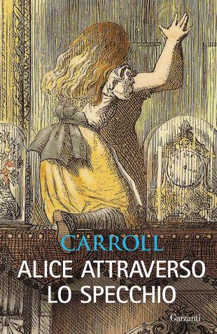 copertina Alice attraverso lo specchio