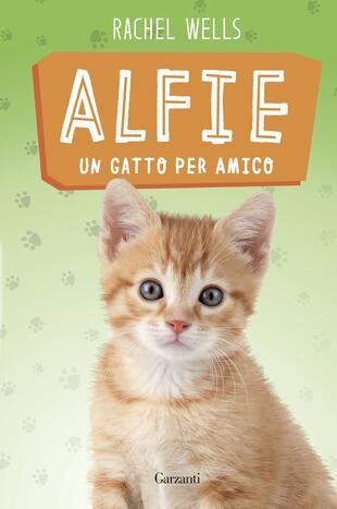 copertina Alfie un gatto per amico