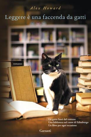 copertina Leggere è una faccenda da gatti