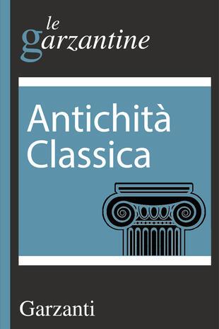copertina Antichità classica