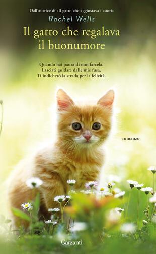 copertina Il gatto che regalava il buonumore