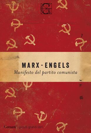 copertina Il manifesto comunista
