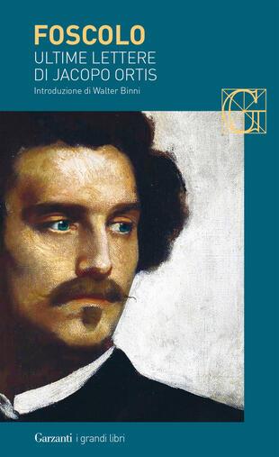 copertina Ultime lettere di Jacopo Ortis