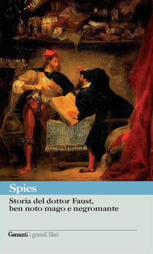 copertina Storia del dottor Faust, ben noto mago e negromante