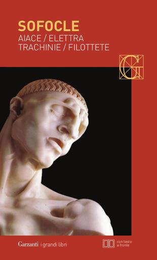 copertina Aiace - Elettra - Trachinie - Filottete