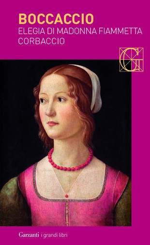 copertina Elegia di Madonna Fiammetta - Corbaccio