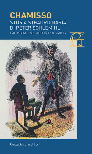 copertina Storia straordinaria di Peter Schlemihl