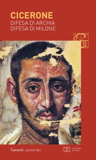 copertina Difesa di Archia - Difesa di Milone