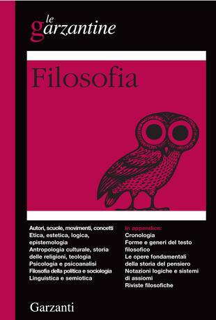 copertina Filosofia