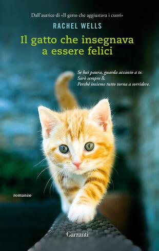copertina Il gatto che insegnava a essere felici