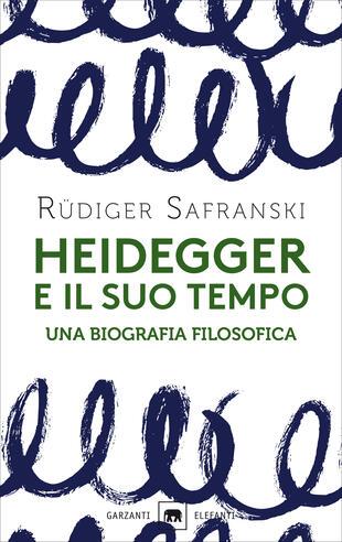 copertina Heidegger e il suo tempo